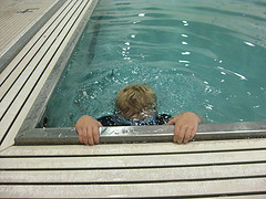 My child should stop swimming lessons when......