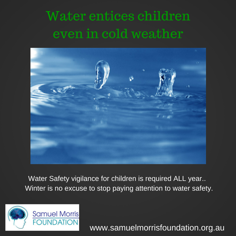 Winter Water Safety Tip - Supervise